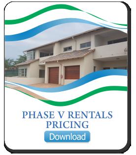 Phase V Rental Pricing